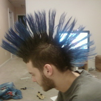 Ryan's mohawk