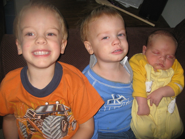 My 3 boys