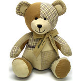 Teddy Bear Patchwork Bear