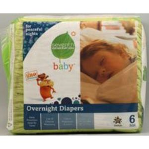 Seventh Generation Baby Overnight Diapers