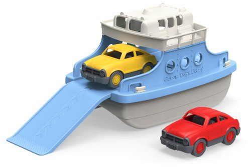 Image of: Ferry Boat with Mini Cars Bathtub Toy