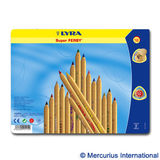 Lyra Super Ferby Color Pencils, 18 in Tin Box