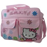 Hello Kitty Diaper Bag with Front Pockets and Shoulder Strap, Pink