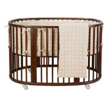 DwellStudio Organic Circles 3 Piece Oval Crib Set