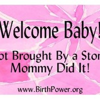 Announce Your Empowered Birth, Lawn Sign