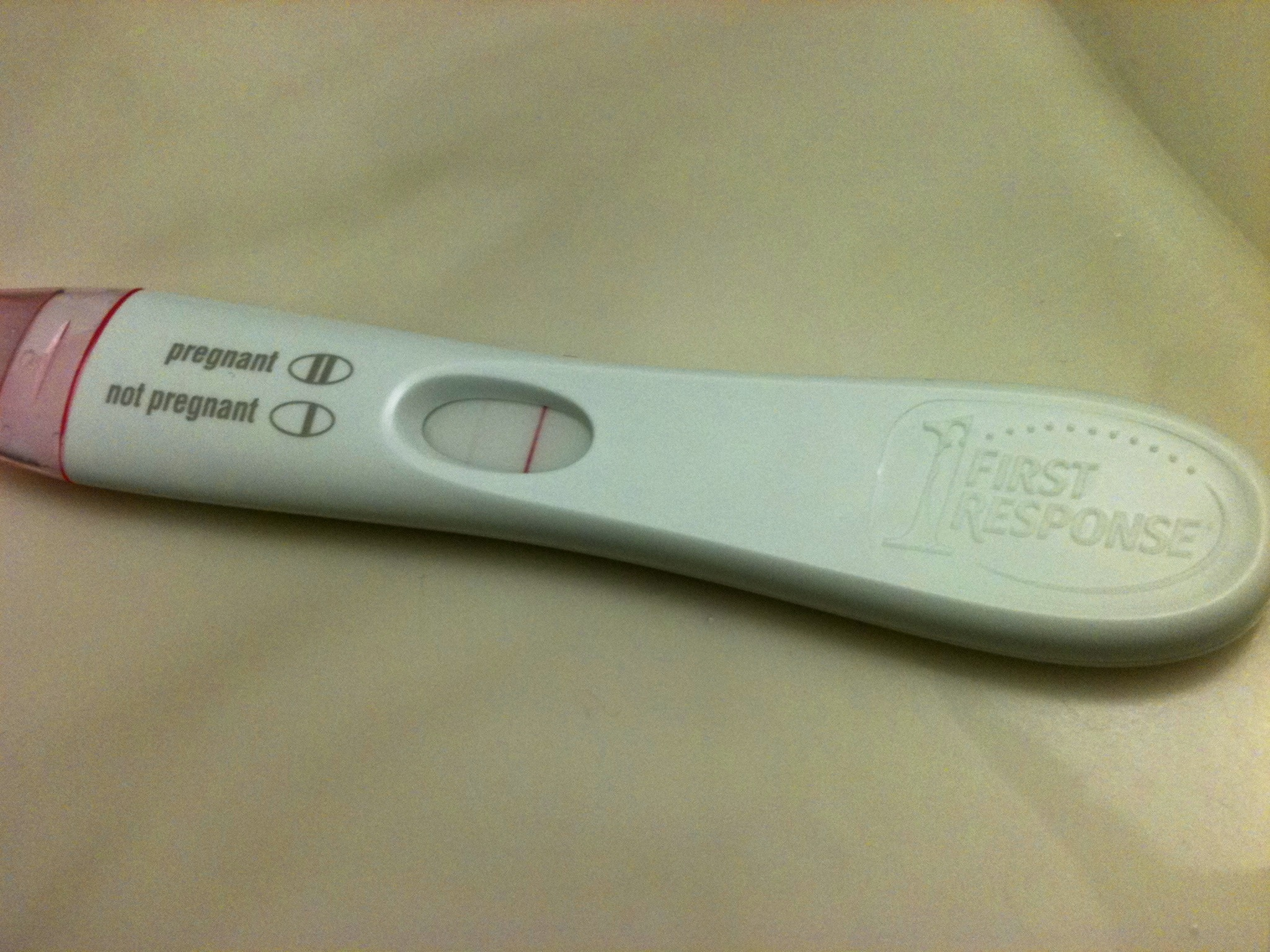Coupon first response pregnancy test