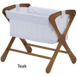 Cariboo Classic Bassinet - Teak