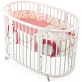 STOKKE SLEEPI Crib Set - Circles Pink