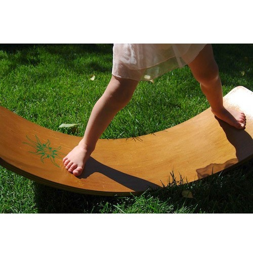 Balance Board For 2 Year Old: Viewing Product: Waldorf Rocker Board