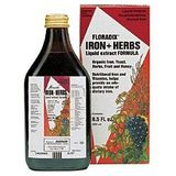Floradix Iron + Herbs by Flora 17 oz.