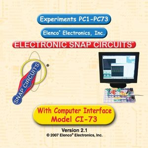 Elenco Snap Circuits CI-73 Computer Interface Kit