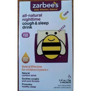 Zarbee's All Natural Nightime Cough & Sleep Drink Packets