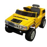 National Products Ltd. 6V Yellow Hummer H2 Battery Operated Ride - On