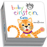 Baby Einstein Cats Chunky Board Book