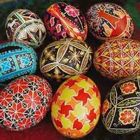 Handmade pysanky