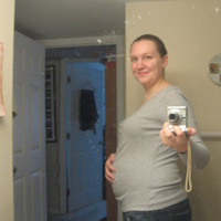 Belly pic 19 weeks and change