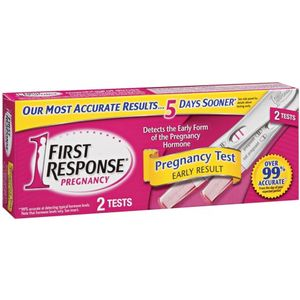 First Response Early Result Pregnancy Test, 2-Count Tests (Pack of 2)