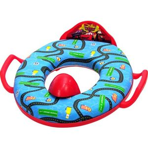 Disney Cars Soft Potty Seat - Red/Blue