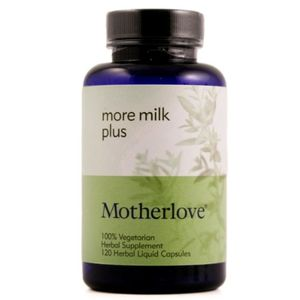 Motherlove Herbal Company More Milk Plus 120 capsules