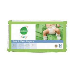 Seventh Generation Free and Clear Baby Diapers