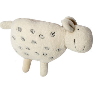 Organic Cotton / Bamboo Lamb Rattle
