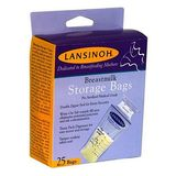 Lansinoh 20435 Breastmilk Storage Bags, 25-Count Boxes (Pack of 3)