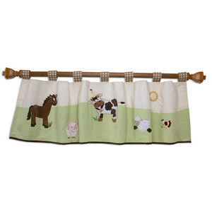 Farm Babies Window Valance