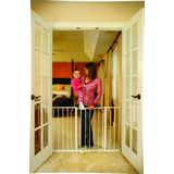 Regalo Easy Open Super Wide Walk Thru Gate - White