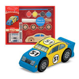 Melissa & Doug Create-a-Craft - Race Car