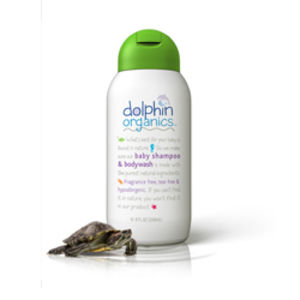 Dolphin Organics Baby Shampoo and Body Wash