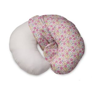 Boppy Cotton Slipcover, Pink Spring Flower