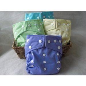 Kawaii Baby One Size Snap Diaper