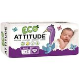 Attitude Eco-Friendly Baby Diapers, Mini, Size 1-2, 36 ea, 1 ea