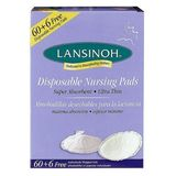 Lansinoh 20265 Disposable Nursing Pads, 60-pack