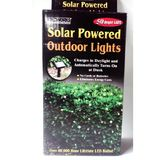Solar Powered Eco Friendly White Christmas Lights