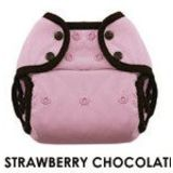 Weehuggers Diaper Cover Snaps (1 [6-18 lbs], strawberry chocolate)