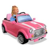 National Products Ltd. 6V Battery Operated Mini Cooper Ride - On Pink