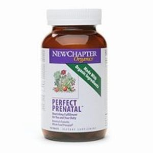 New Chapter Organics Perfect Prenatal Multivitamin 180 ea