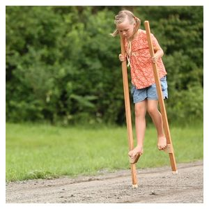 Image of: Wooden Stilts