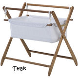 Cariboo Gentle Motions Bassinet - Teak