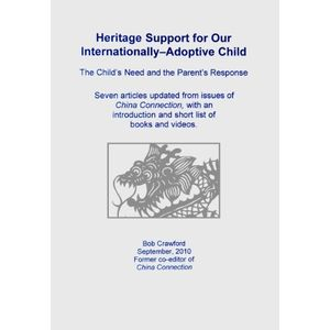 Heritage Support for Our Internationally-Adoptive Child