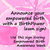 pink empowered birth lawn sign.jpg