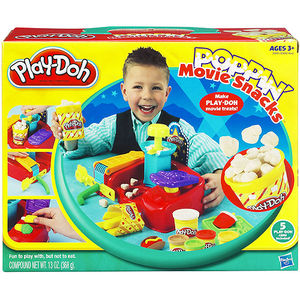 Play-Doh Poppin' Movie Snacks