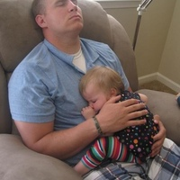 Nap with daddy