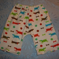 Cotton Interlock Weiner Dog Pants