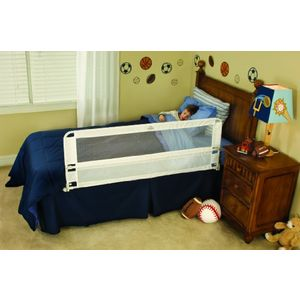 Regalo Hide Away Exrta Long Bed Rail - White