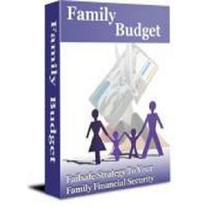 Family Budget Leads You Out Of Debt save MONEY MRR
