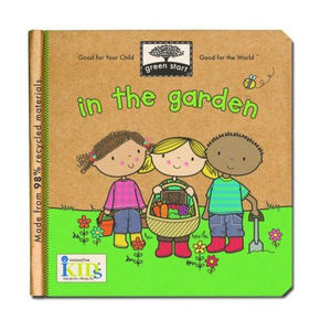Green Start Recycled Board Book - In the Garden