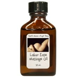 Earth Mama Angel Baby Labor Ease Massage Oil 30 ml oil