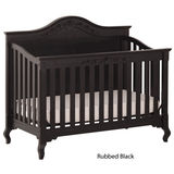 Status Somerset Stages Crib - Rubbed Black